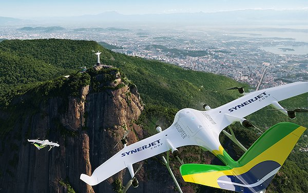 First Wingcopter authorized partner in South America - SYNERJET