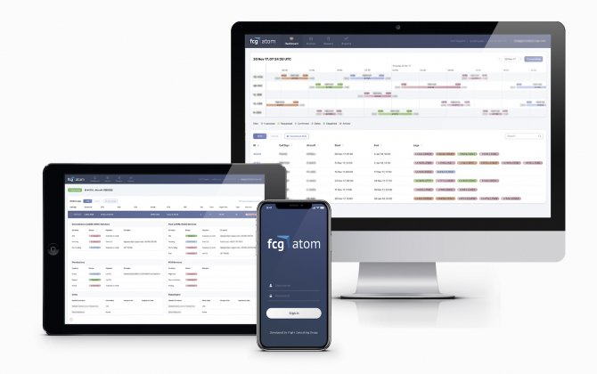 Flight Consulting Group unveiled the ATOM's new customer portal  at EBACE 2018