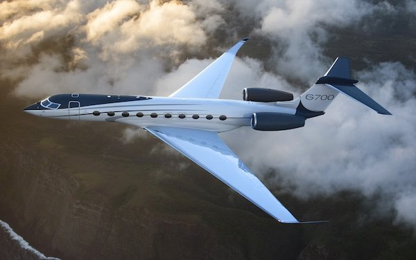 Flight controls for Gulfstream G700 supplied by Thales