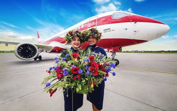 Flights to London by airBaltic from all three Baltic States