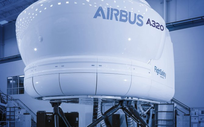 FlightSafety International is Building a New Airbus A320 Full Flight Simulator for the Aviation Safety and Training Center in Singapore