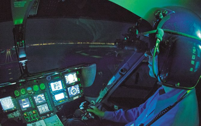 FlightSafety Now Offers Night Vision Goggle Training in Dallas, Denver, Lafayette and Stavanger