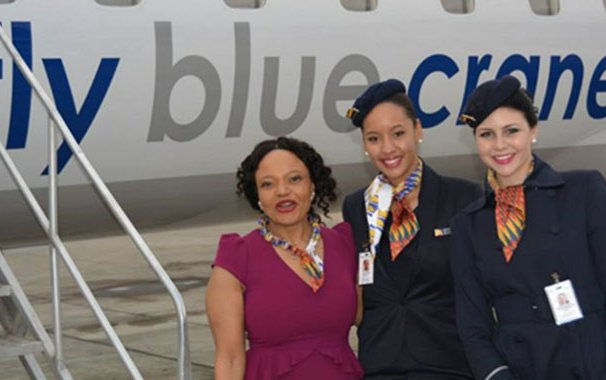 Fly Blue Crane, First Airline Founded By A Black Woman, Is Preparing For First International Takeoff