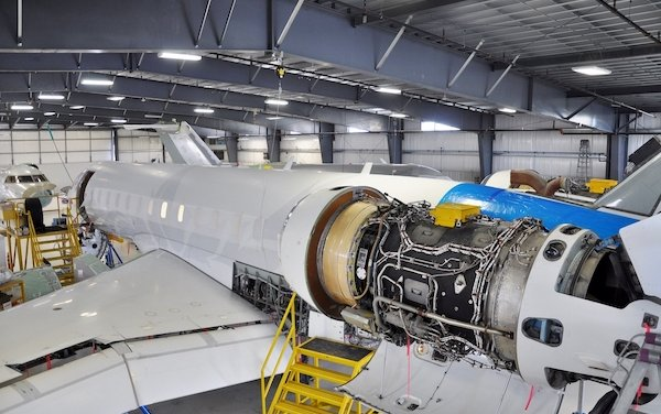 Flying Colours Corp. completes 240 month Global Express heavy inspection