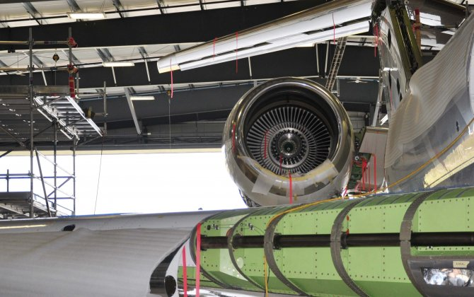 Flying Colours Corp. completes third Bombardier Global heavy maintenance check