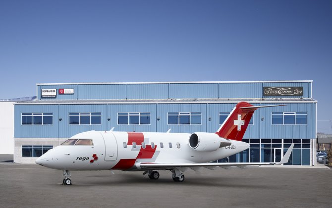 Flying Colours Corp. first to outfit Bombardier Challenger 650 jet in medevac format