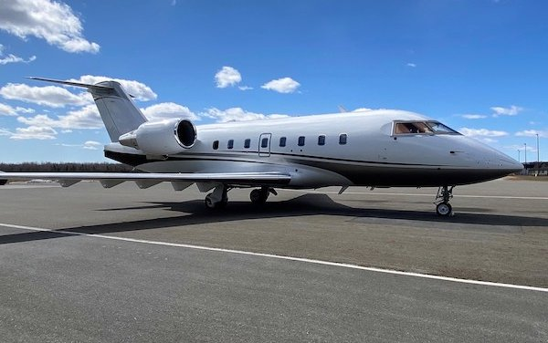 Flying Colours installing its first Ka-band system on a Bombardier Challenger 604