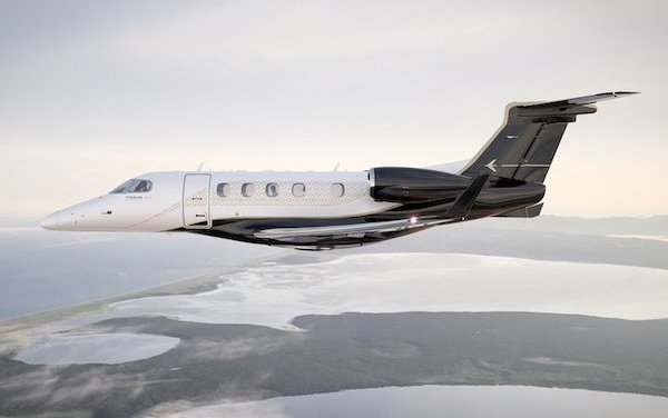 For Eight consecutive years the World Most Delivered Light Jet is Embraer Phenom 300