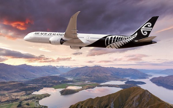 For Future Growth, Air New Zealand Selects Boeing 787-10 Dreamliner