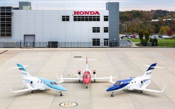 For Second Consecutive Year, The HondaJet is the Most Delivered Aircraft in its Class