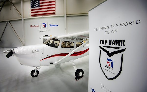 Four Cessna Pilot Centers names as 2020 Top Hawks by Textron Aviation