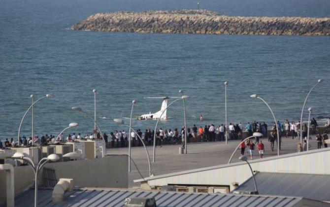 Four Hurt as Light Aircraft Makes Crash Landing Off Tel Aviv's Shores