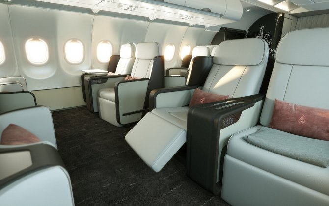 Four Seasons air cruises on board of  A321LR