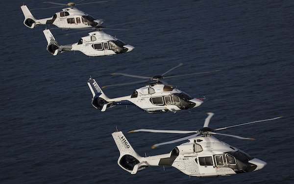 French Navy search and rescue missions reinforced with four H160s