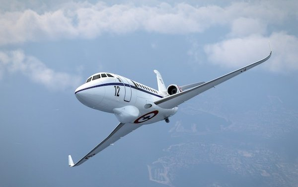 French Navy selected Falcon 2000 Albatros