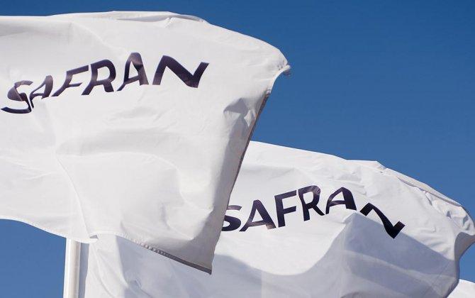 French President François Hollande inaugurates Safran's new R&D center near Paris