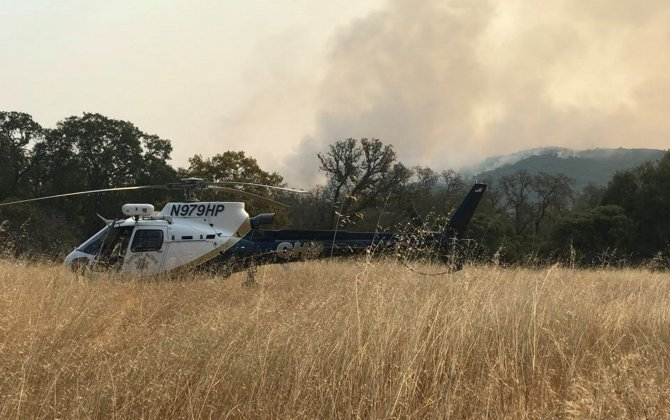 From rescues to damage assessment: how helicopters helped combat the California wildfires