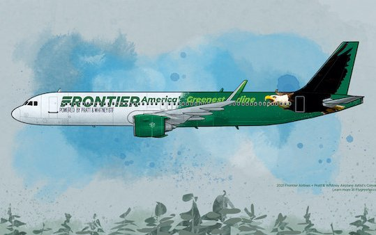 Frontier Airlines selects Pratt & Whitney GTF Engines to power 134 Airbus A320neo Family Aircraft