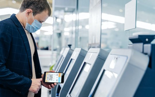 Full contactless experience through airports - Collins Aerospace