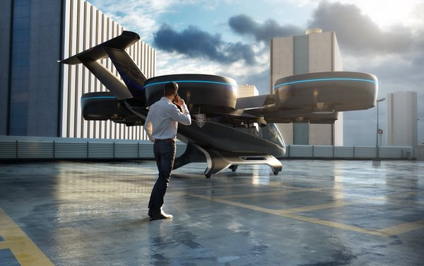 Full-scale Design of Air Taxi unveiled by Bell