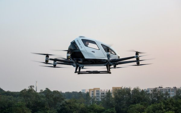 Future of Urban Air Mobility - EHang founder on its mission and technological advancements