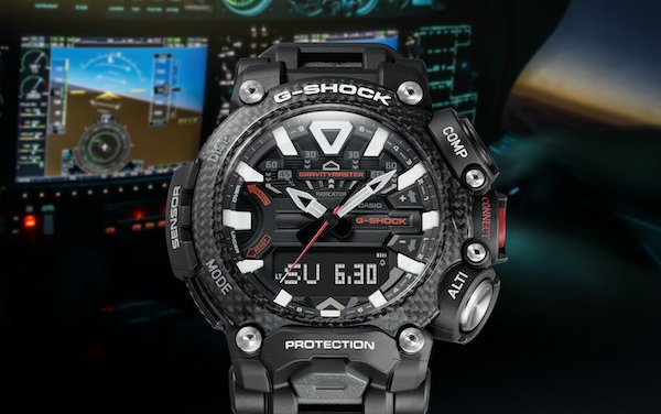 G-Shock unveils New GRAVITYMASTER for aviation professionals