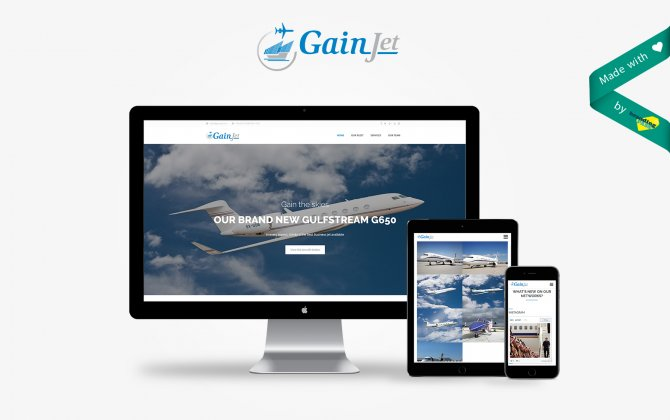 GainJet unveils its completely revamped website designed by Branding pass