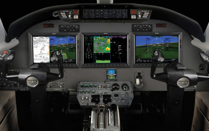 Garmin® completes first flight of the newly retrofitted Citation XLS featuring the G5000® integrated flight deck