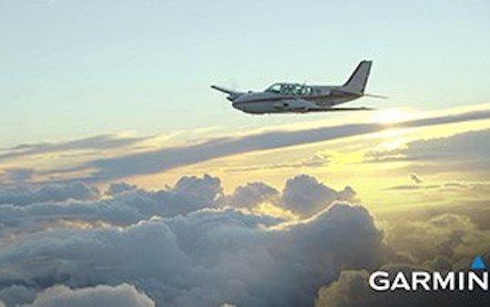 Garmin will demonstrate datalink weather broadcast for pilots in Friedrichshafen