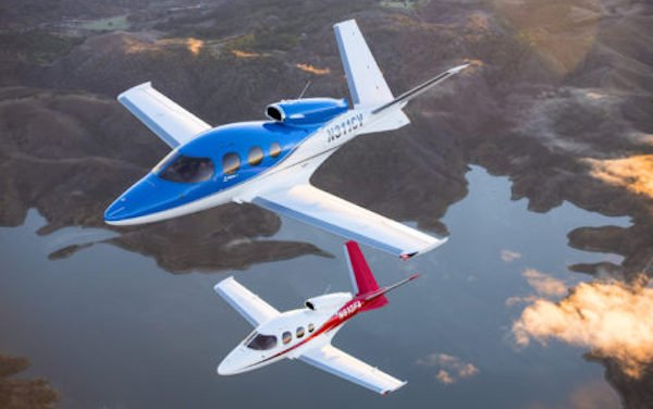 Generation 2 Vision Jet by Cirrus Aircraft