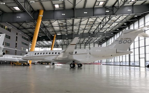Geneva Airpark became 10th Bombardier Line Maintenance station in the world