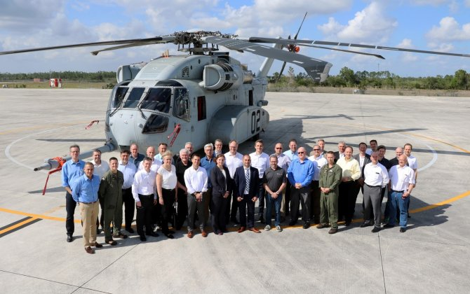 German Aerospace Companies Visit Sikorsky's West Palm Beach Facility