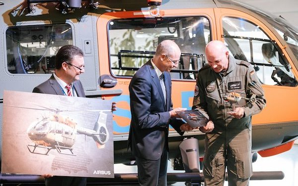 German Armed Forces SAR received first H145 from Airbus Helicopters