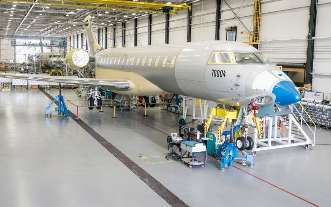 Global 7000 Aircraft Program Surpasses 500 Flight Test Hours