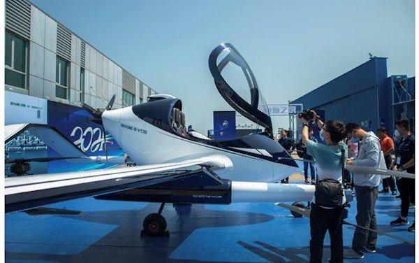 Global EHang long-range VT-30 AAV debut before Zhuhai Airshow