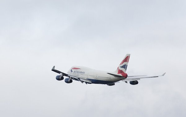 Goodbye to first of British Airways last 747 Jumbo Jets