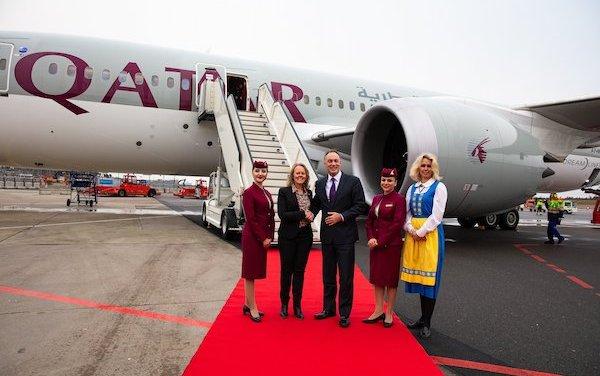 Gothenburg Landvetter Airport welcomes Qatar Airways' Inaugural Flight