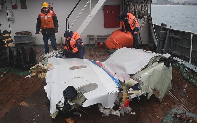 Government commission considering seven versions of Tu-154 crash