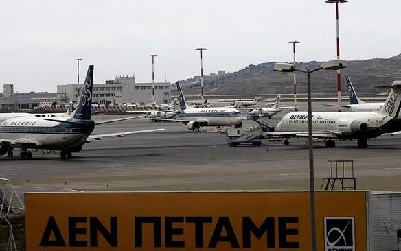 Greece flights canceled ahead of strikes