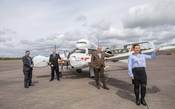 Green Rebel Marine took delivery of its first DA42 MPP Aerial Survey aircraft