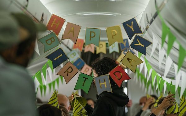 Greetings on airBaltic 25th anniversary