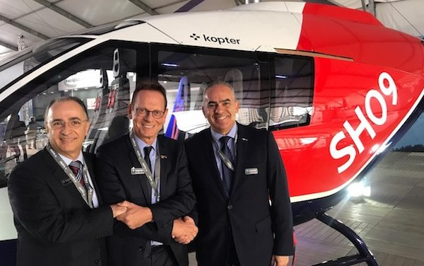 Gualter Helicopteros appointed as Kopter Group distributor for Brazil