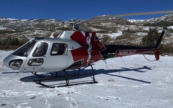 Guardian Flight  helicopter base in Kenai, Alaska