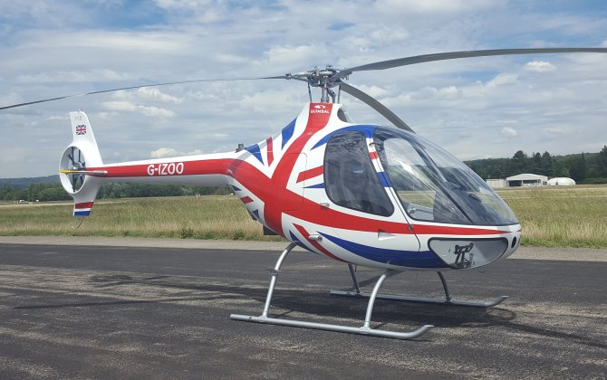 Guimbal sells 200th Cabri G2 to UK distributor HeliGroup