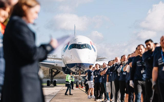 Guiness World Records plane pull for Sport Relief