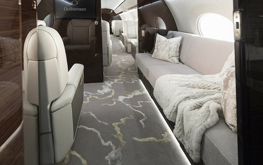 Gulfstream design teams and Gulfstream G650ER earn accolades