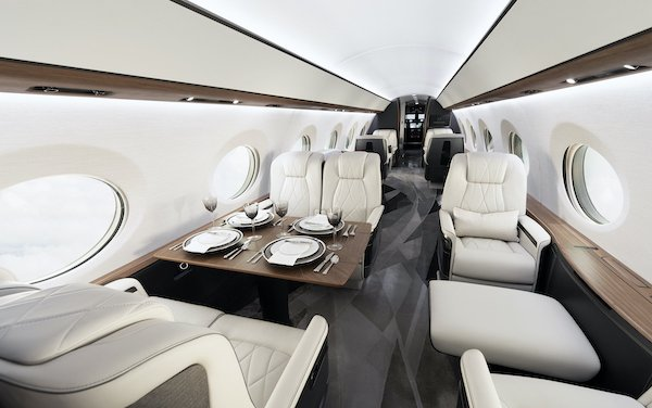 Gulfstream enhances G700 cabin environment with lower cabin altitude