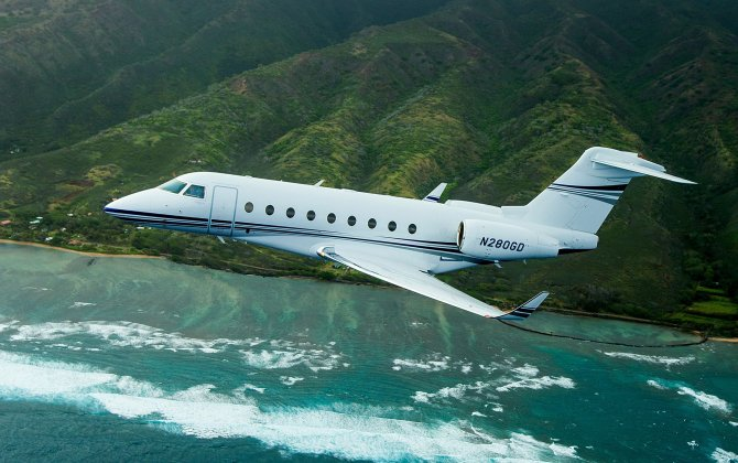 Gulfstream G280 darts from Michigan to England, setting another record