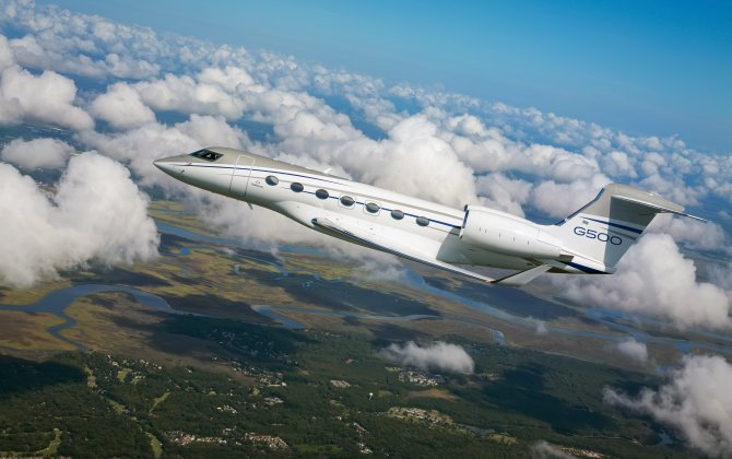 Gulfstream G500 embarks on world tour