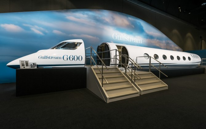 Gulfstream launches G500 and G600 cabin showcase